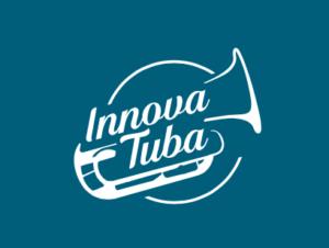 Logo azul de Innovatuba