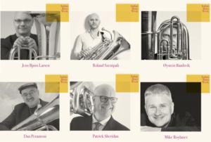 profesores de tuba en Italian Brass Week