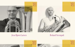 profesores de tuba y bombardino del festival Italian Brass Week