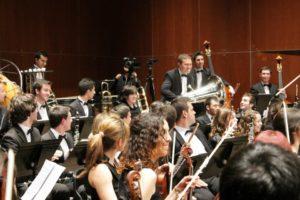José Vicente Climent en la Orquesta Sinfónica
