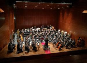 Banda de Música de Chelva en el certamen de Catarroja