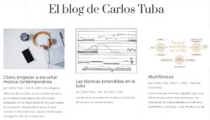 Blog de Carlos Tuba