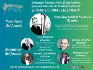Jurado Concurso Internacional Eurochestries