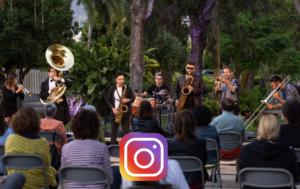 La wonder Brass en la primavera musical de la isla La Palma